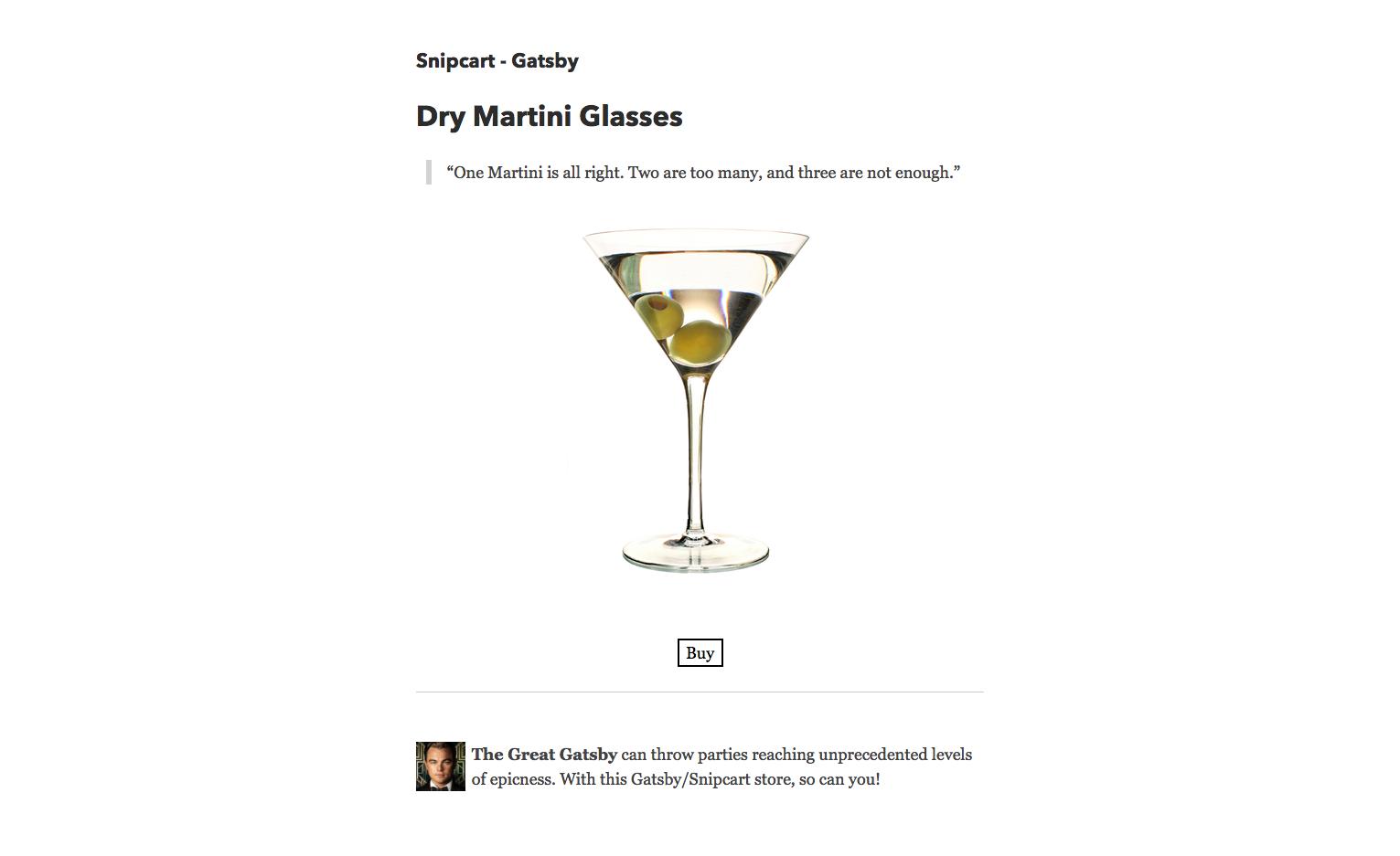 snipcart-reactjs-static-ecommerce-dry-martini-glasses