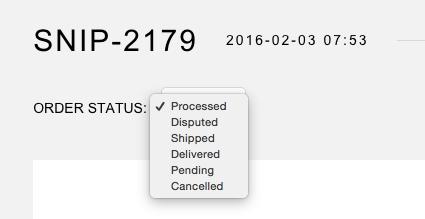 snipcart-docs-dashboard-order-status