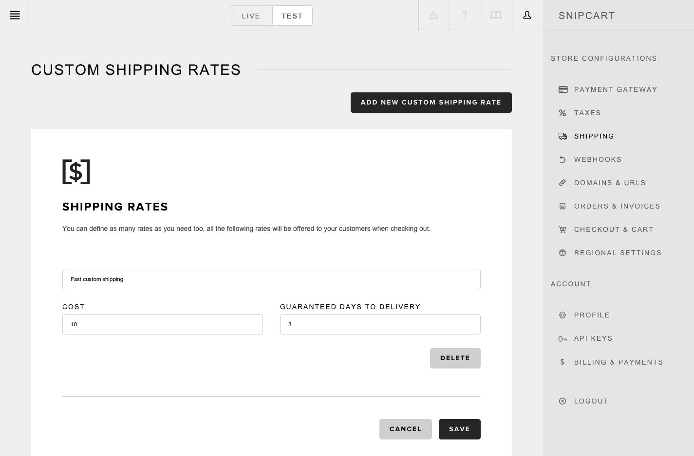 snipcart-docs-dashboard-custom-shipping
