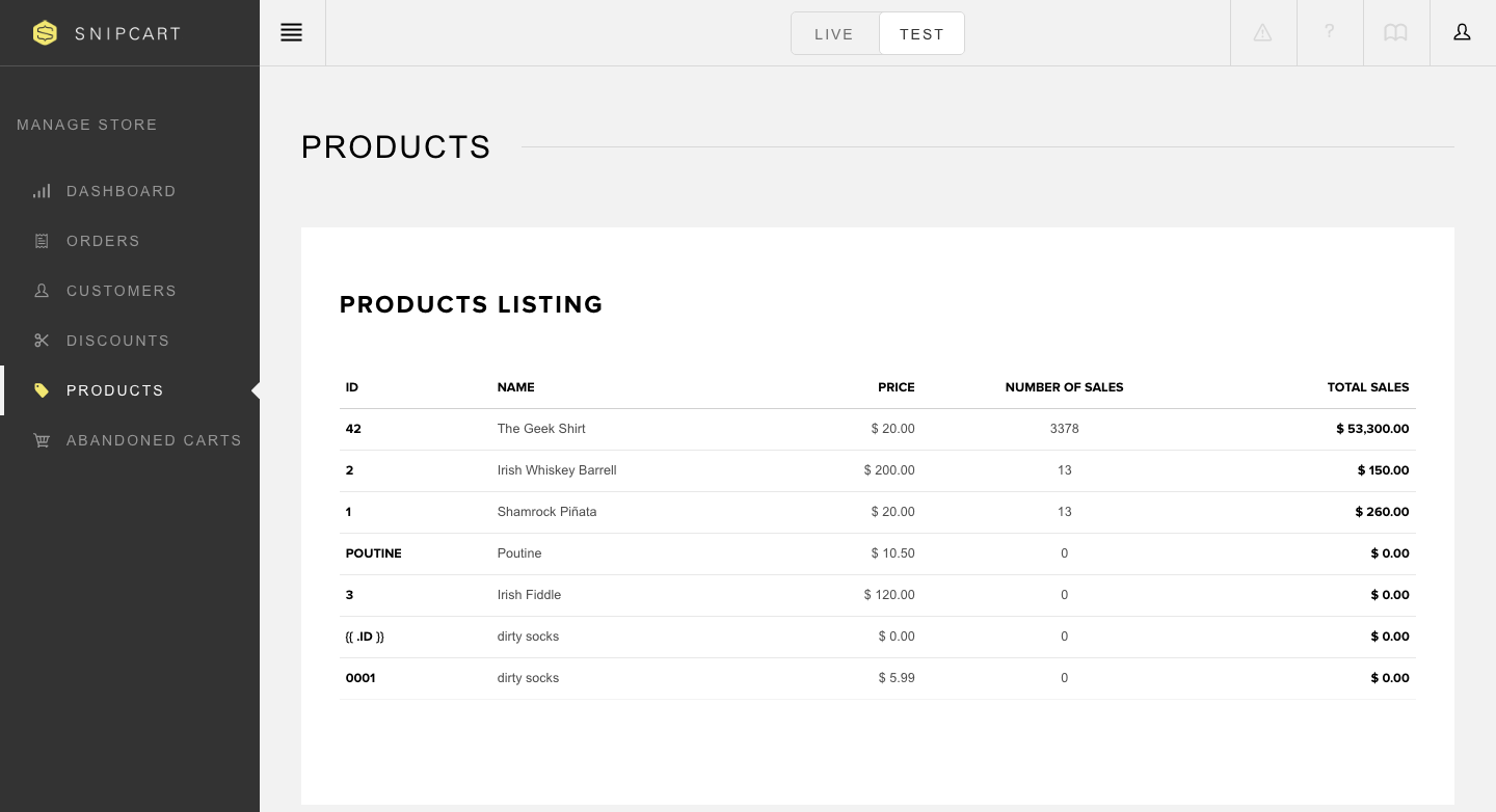 products-listing