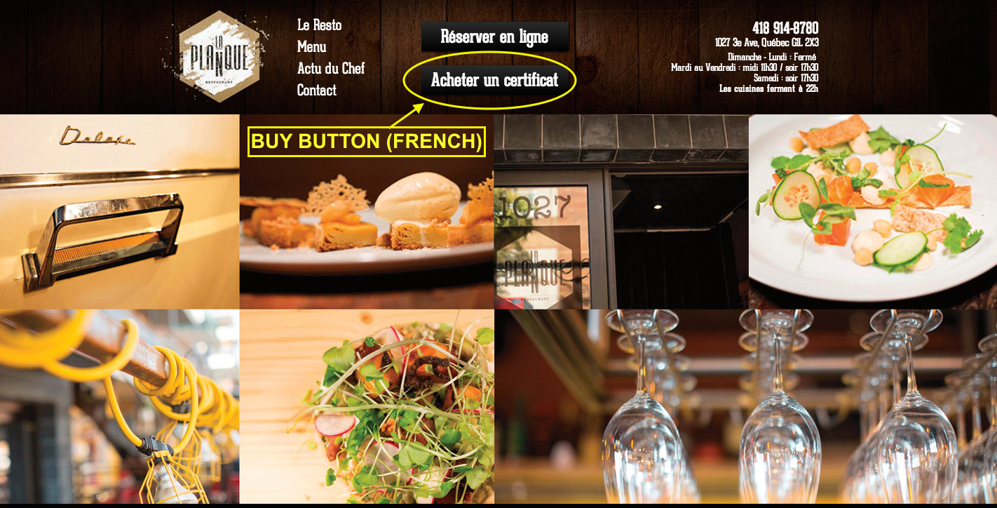 snipcart-restaurant-gift-certificates-button